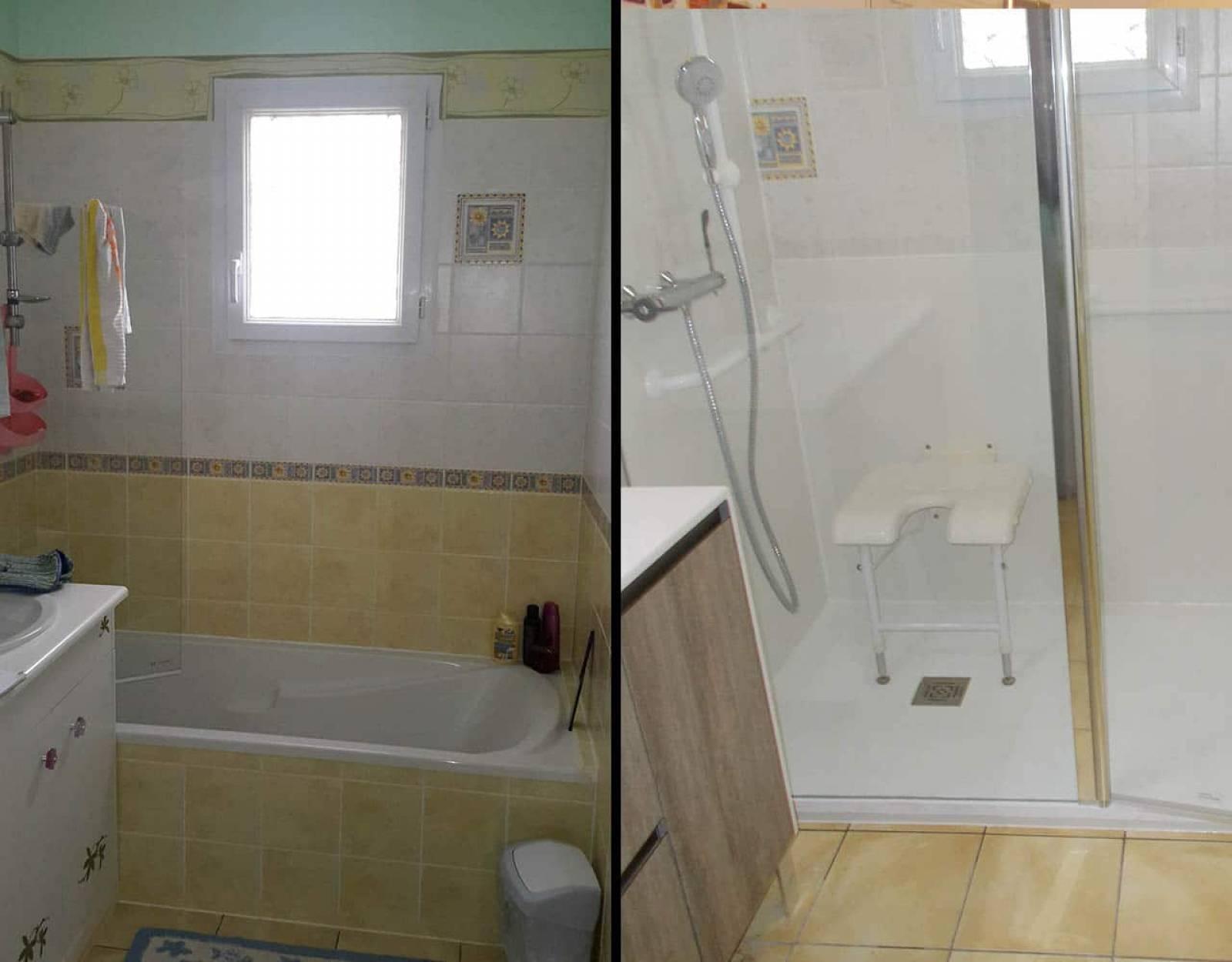Les avantages de transformer une baignoire en douche sur - Transformer une baignoire en douche ...