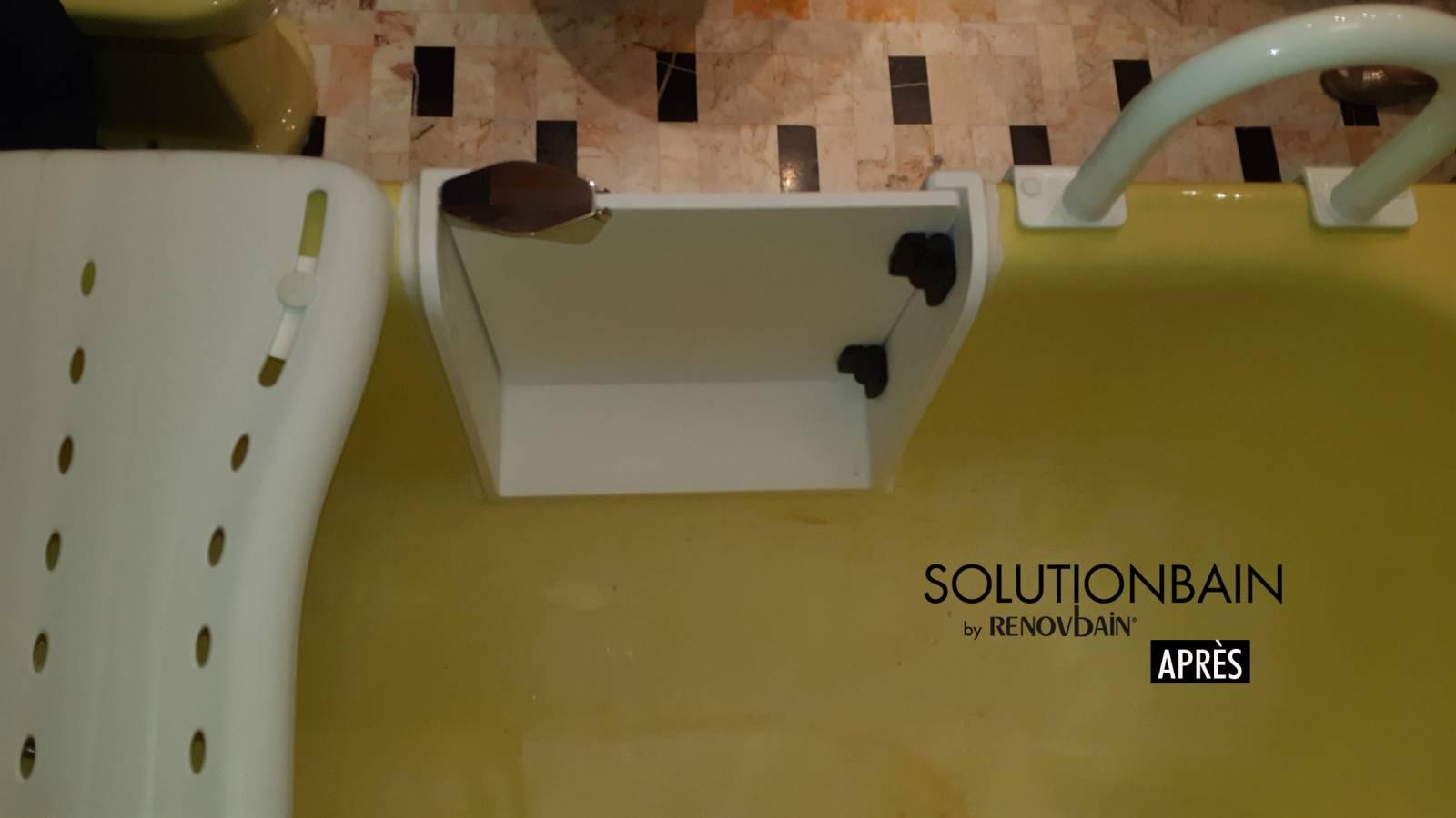 Ouverture lat rale de baignoire avec pose d 39 une porte tanche nice en r gion paca r novation - Baignoire a porte laterale ...